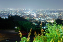 札幌都市夜景 大倉山ジャンプ台