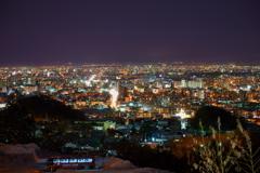 札幌冬夜景~大倉山ジャンプ台~