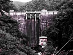 小阪部川ダム・貫禄