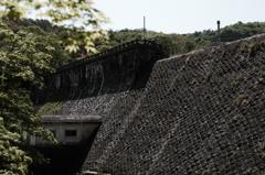 千本ダム・城郭