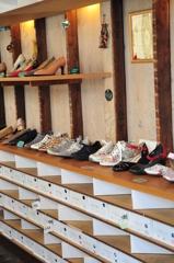 手作りの靴店