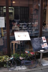 路地裏のカフェ
