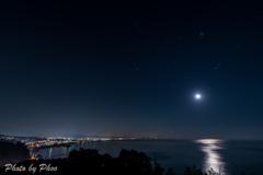 相模湾の夜