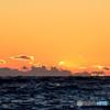 西伊豆から眺める夕景