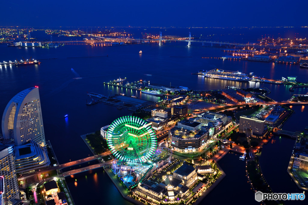 MINATOMIRAI NIGHT VIEW その3