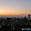 世界貿易センタービルからの夕景