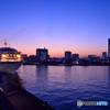 黄昏の港ヨコハマ