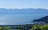 快晴の琵琶湖