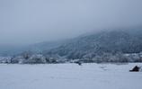 雪の大原の里