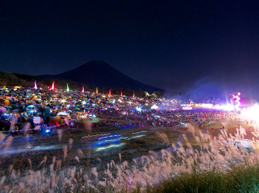 秋夜のフェスティバル