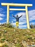 椿大神社の御神体入道ヶ岳Ⅱ