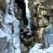 氷瀑の不動滝