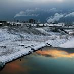 CANON Canon EOS 5D Mark IIで撮影した風景(寒中撮泳)の写真(画像)