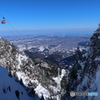 夏山と冬山の対比Ⅱ