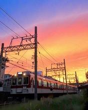 黄昏て哀愁列車