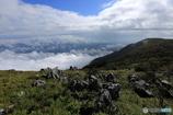 カルストで雲海