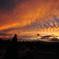 二月堂より奈良の大空を臨む