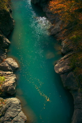 上から目線の渓谷