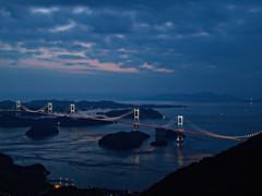 来島海峡夕景