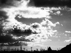 雲によばれた気がして