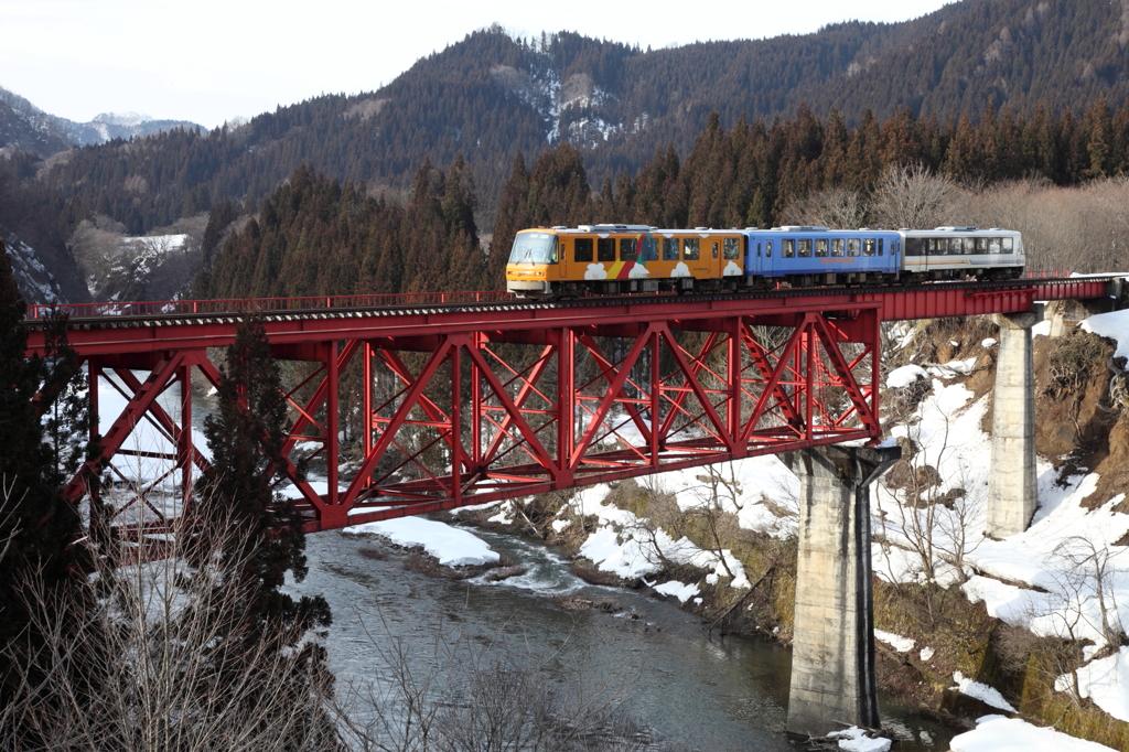 冬の急行列車