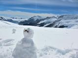 Jungfraujoch_雪だるま