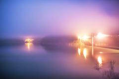 濃霧のオーガンジー