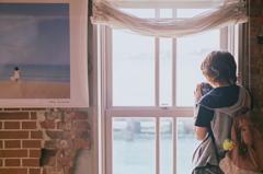 海色の窓辺にて