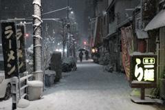 「沈黙の雪」