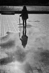 海と空と、雨上がり。