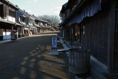 街の情景 - 商家の町並み -