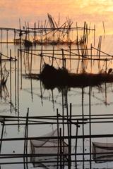 印旛沼・朝景 - 高鳴りの朝 -