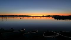 印旛沼・朝景 - 静寂の響き -