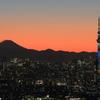 街の情景 - 冬粋と富士 -