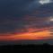 印旛沼・風車 - 染まる暗雲 -