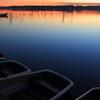 印旛沼・朝景 - 水面の彩に魅せられて -