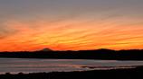 印旛沼・夕景 - 富士も見たムンクの夕焼け -