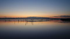 印旛沼・朝景 - 穏やかなマジックアワー -