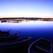印旛沼・朝景 - 閑蒼の夜明け -