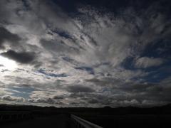 雲が出会う場所