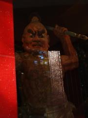 円福寺力士像