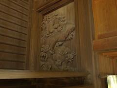 彫刻 内々神社