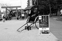 犬山城下町 人力車