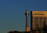 OLYMPUS E-P5で撮影した(港とホテルと夕焼けと・・・)の写真(画像)