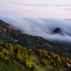 滝雲と紅葉②