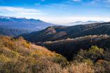 晩秋の霧ヶ峰高原