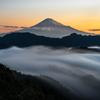 滝雲と富士