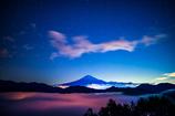富士と虹の川2