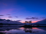 桧原湖3~朝景