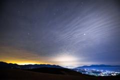 霧ヶ峰の夜